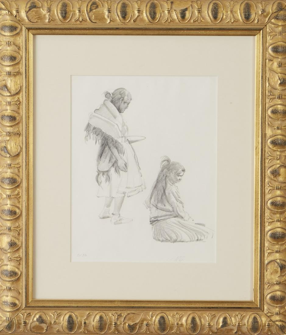 R. Brownell McGrew Graphite on Paper Drawing - 2