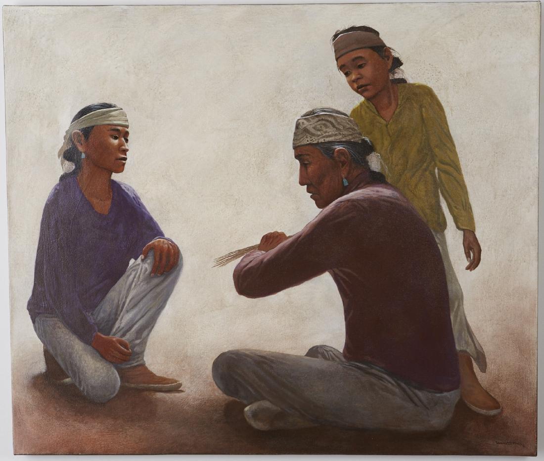 David Johns Acrylic on Canvas