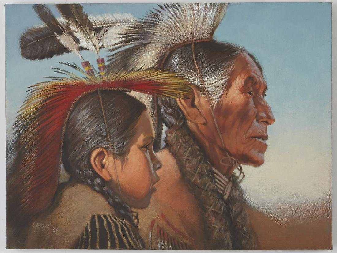 Group of 7 Yazzie Family Artworks - 5