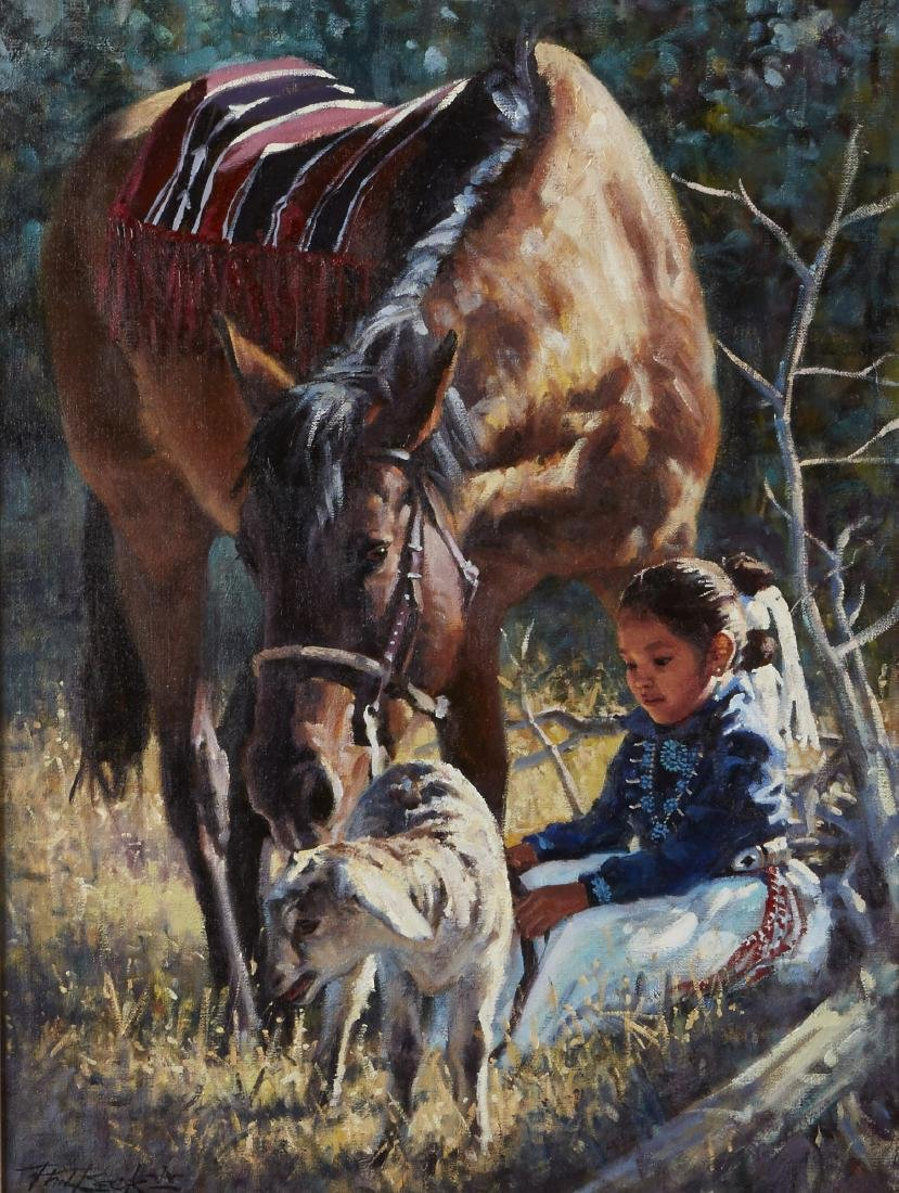 Phil Beck Oil Painting