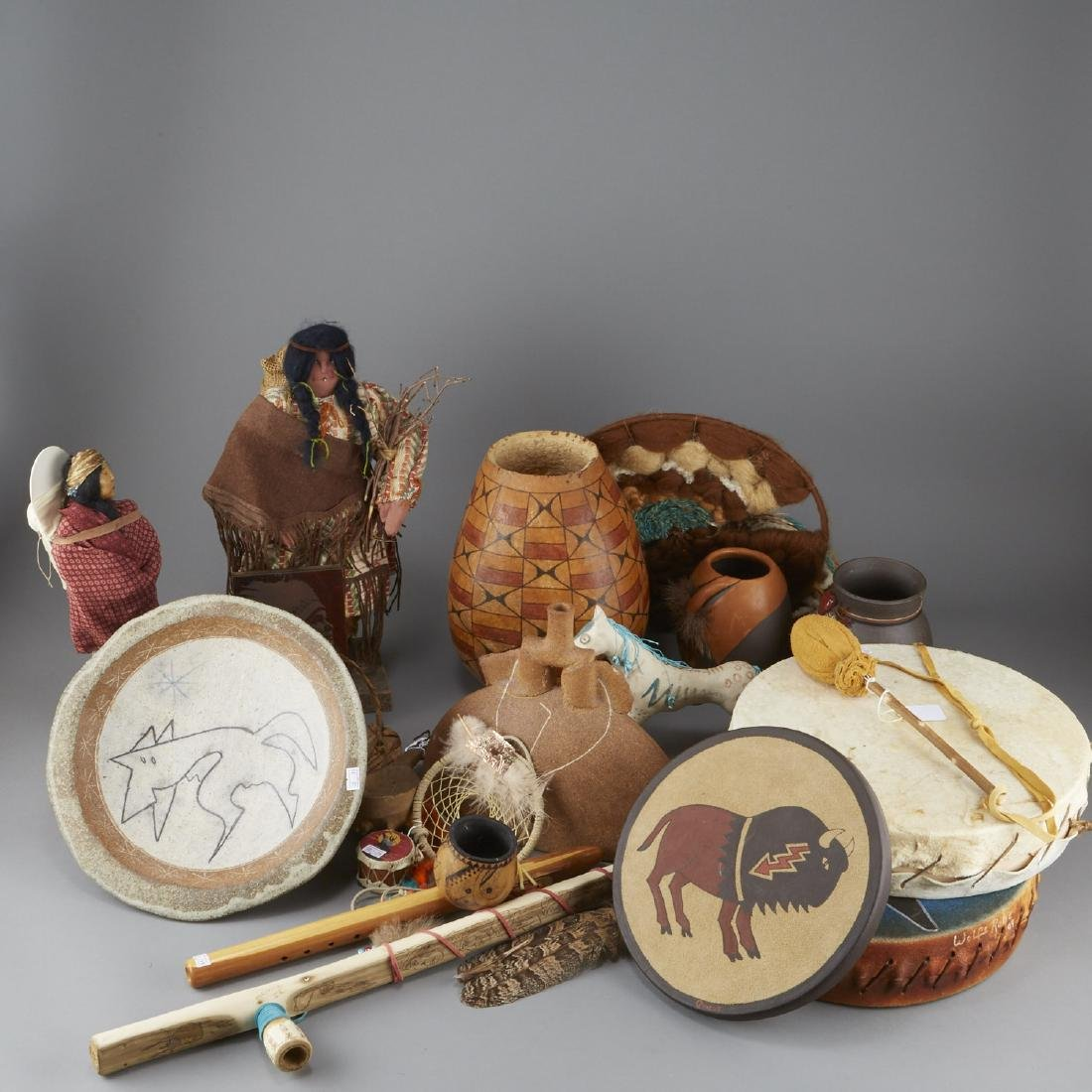 Group of 20 Native American Objects