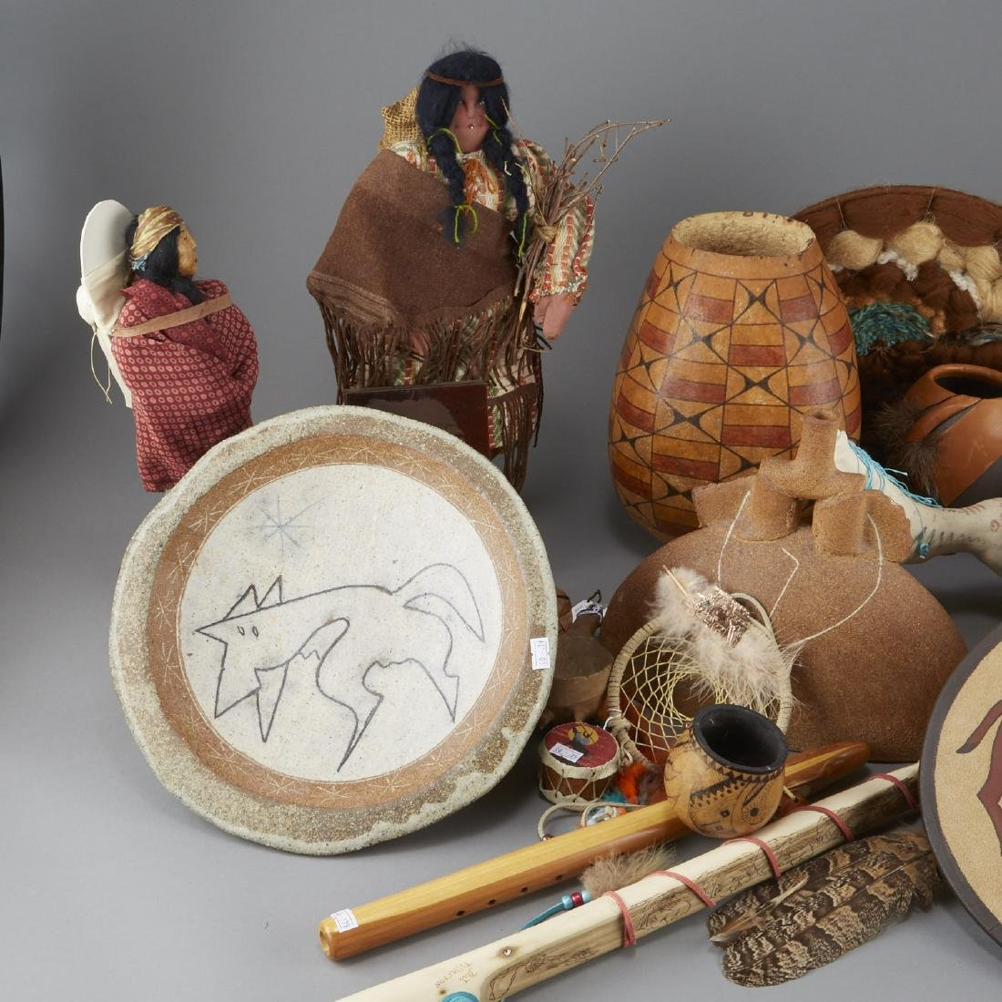 Group of 20 Native American Objects - 2