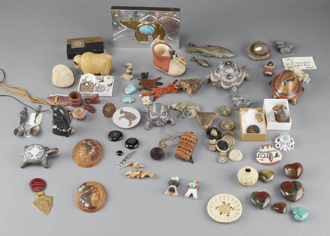 Large Group of Native American-themed Objects