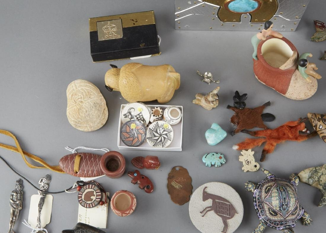 Large Group of Native American-themed Objects - 2