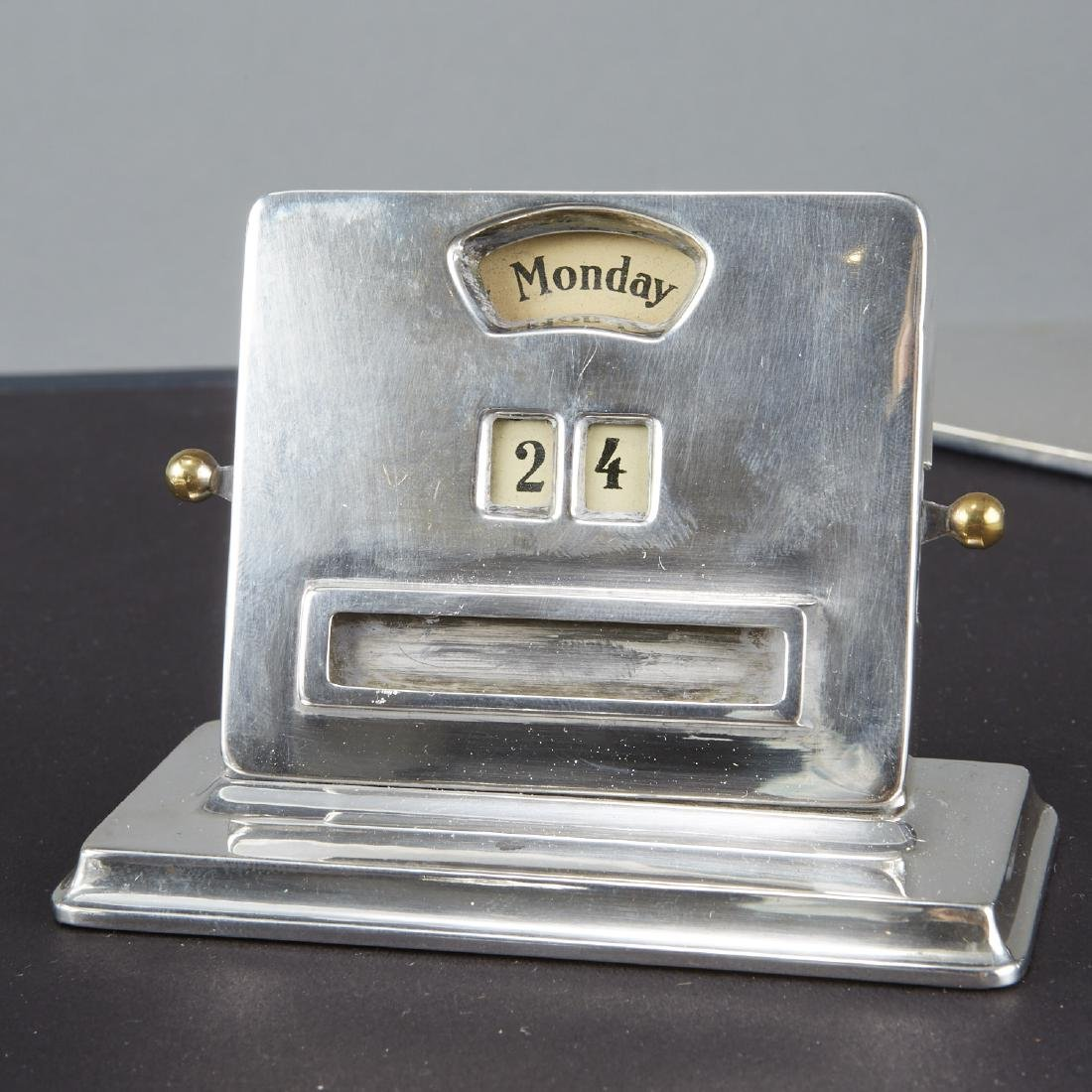 Vintage Sterling Silver Desk Set - 2