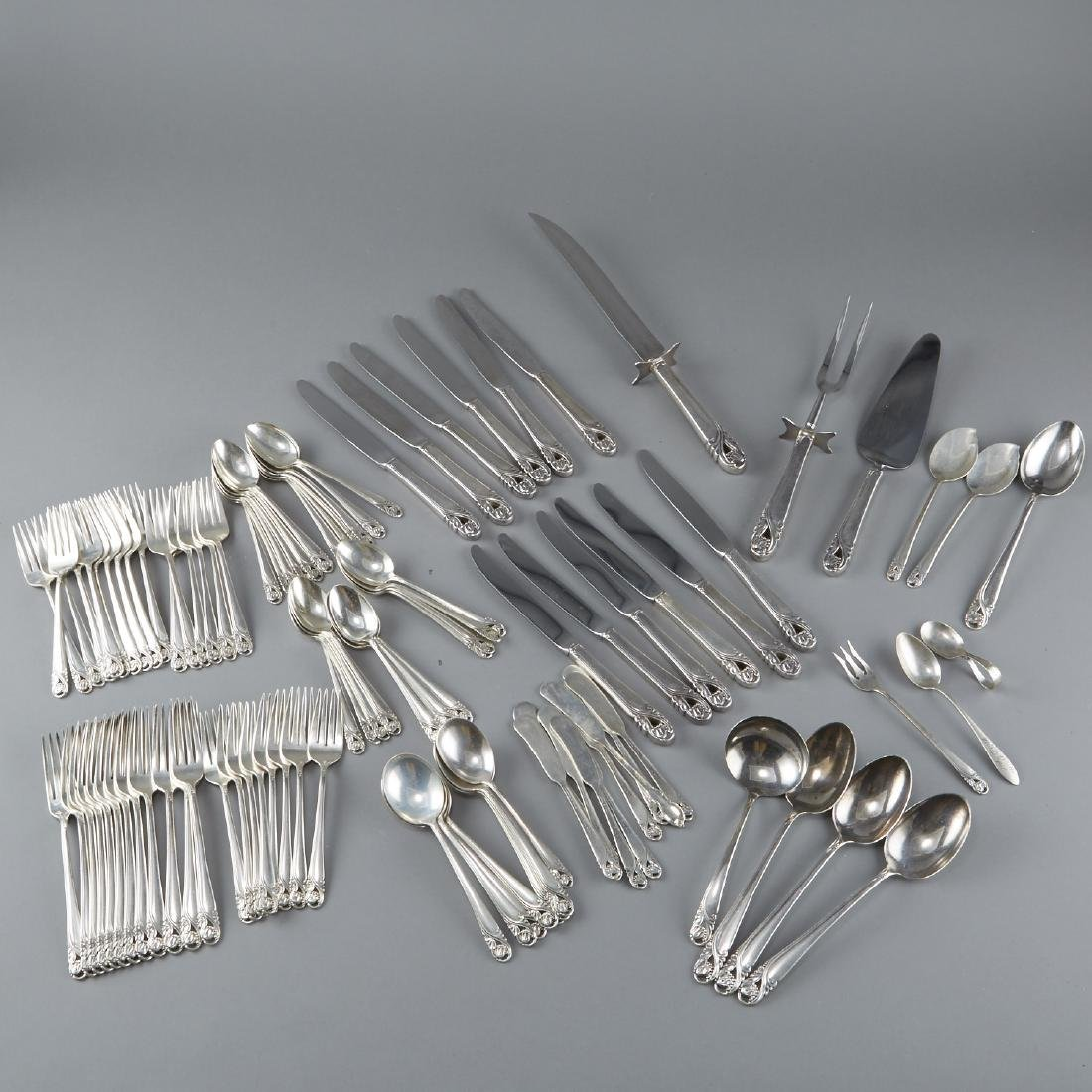 Set of 101 Pieces of Spring Glory Sterling Silver