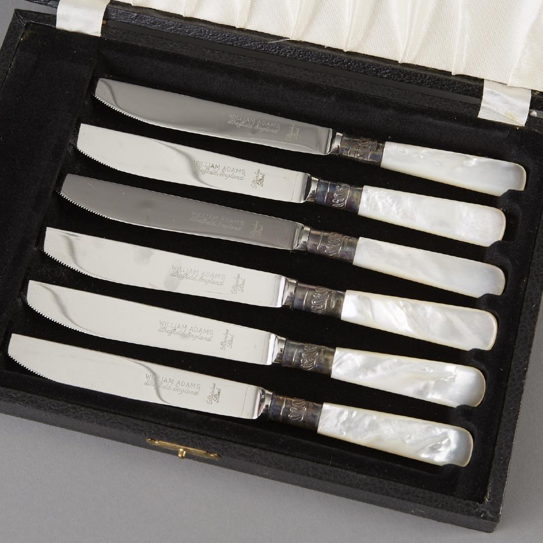 3 Cases of William Adams Knives - 3