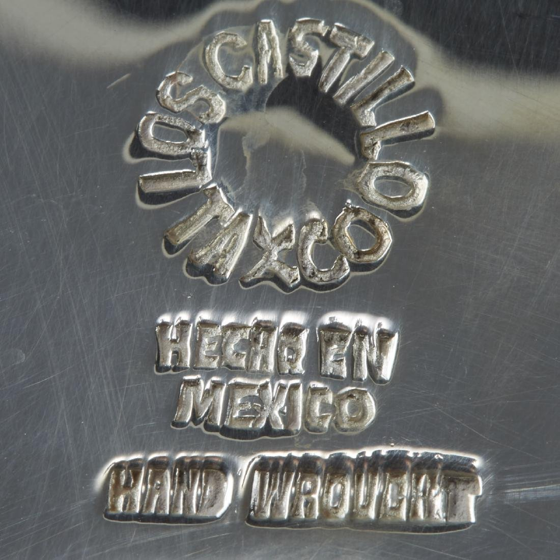 3 Los Castillo Taxco Silver Objects - 2