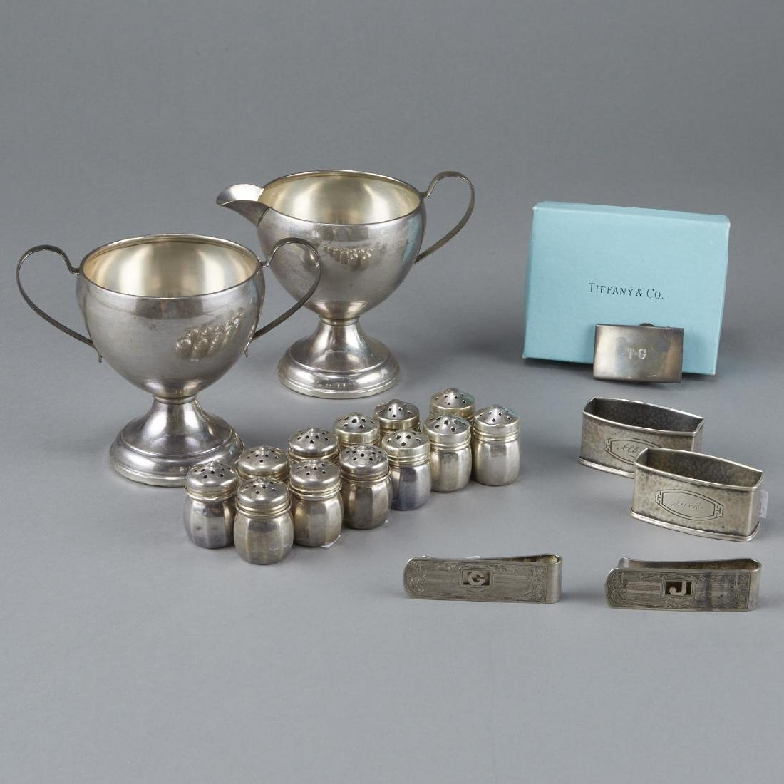 Group of Sterling Silver Objects Tiffany