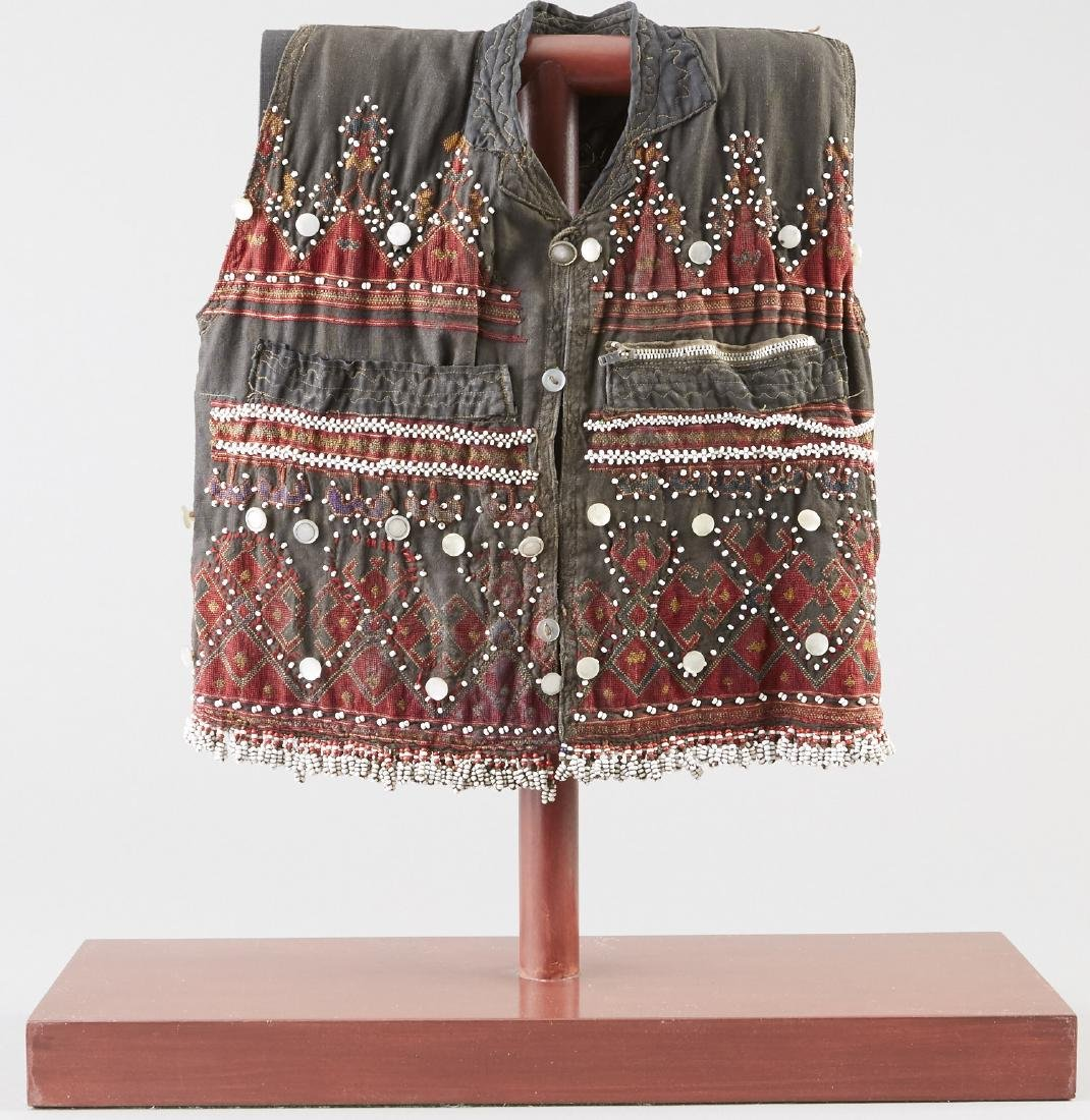Child's Embroidered and Beaded Vest