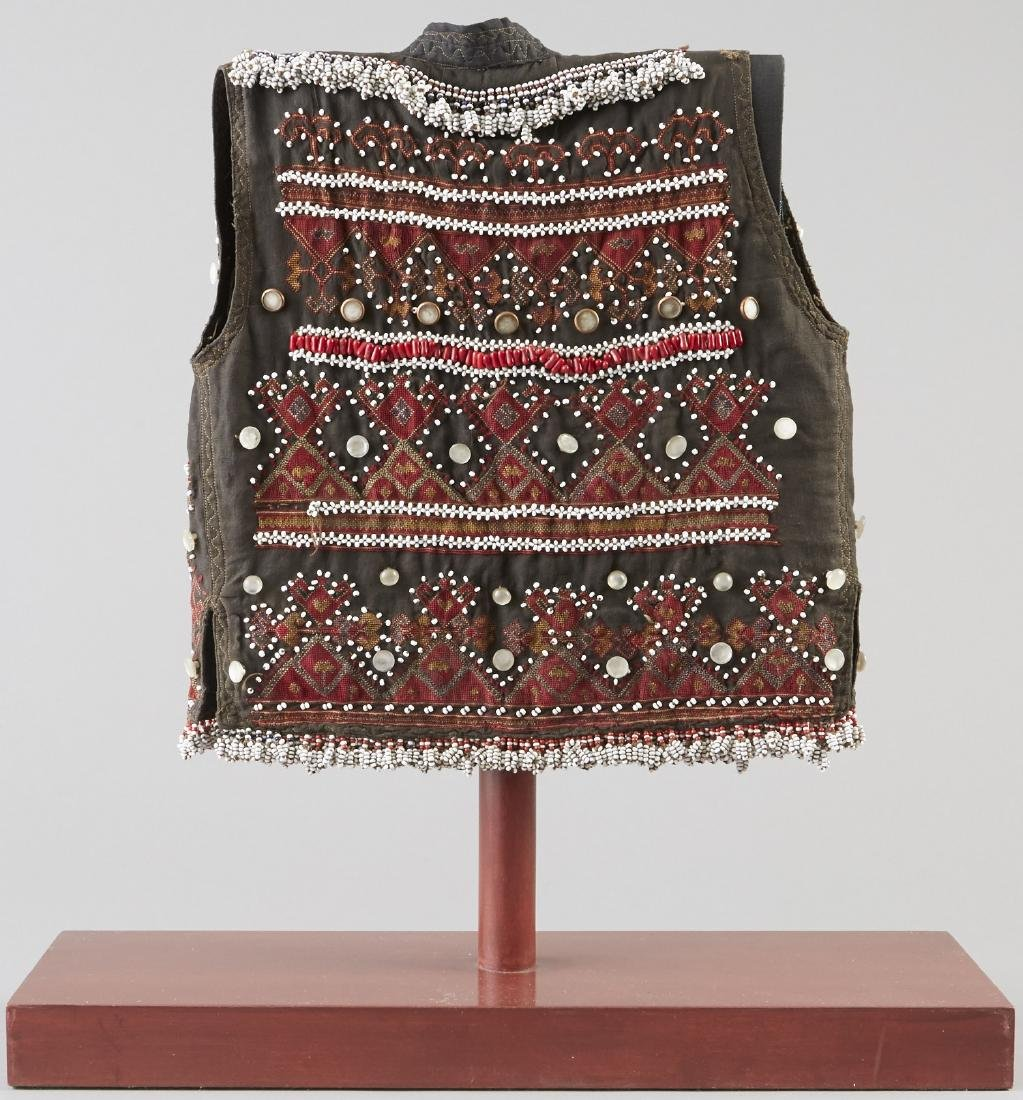 Child's Embroidered and Beaded Vest - 2