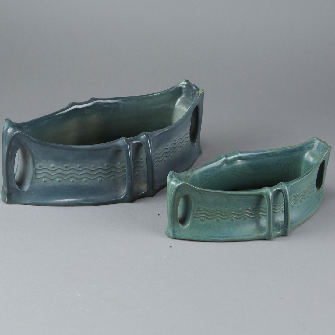 Pair of Amphora Arts and Crafts Basin - 3