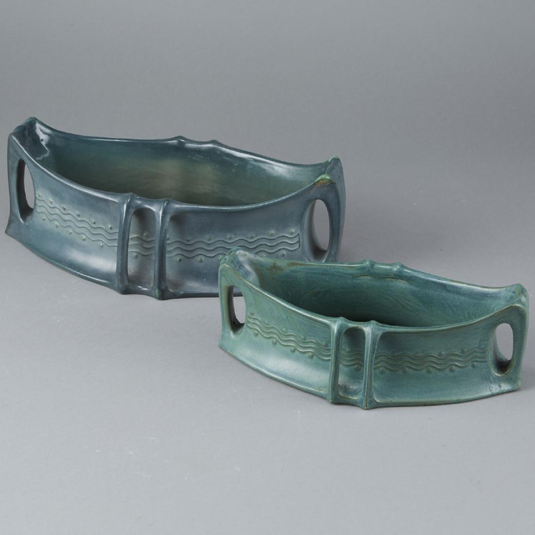 Pair of Amphora Arts and Crafts Basin - 4