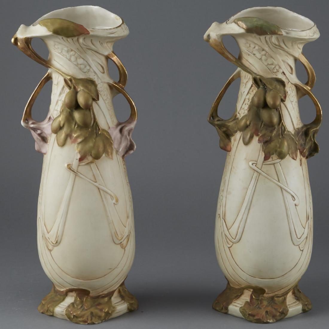 2 Amphora Vases