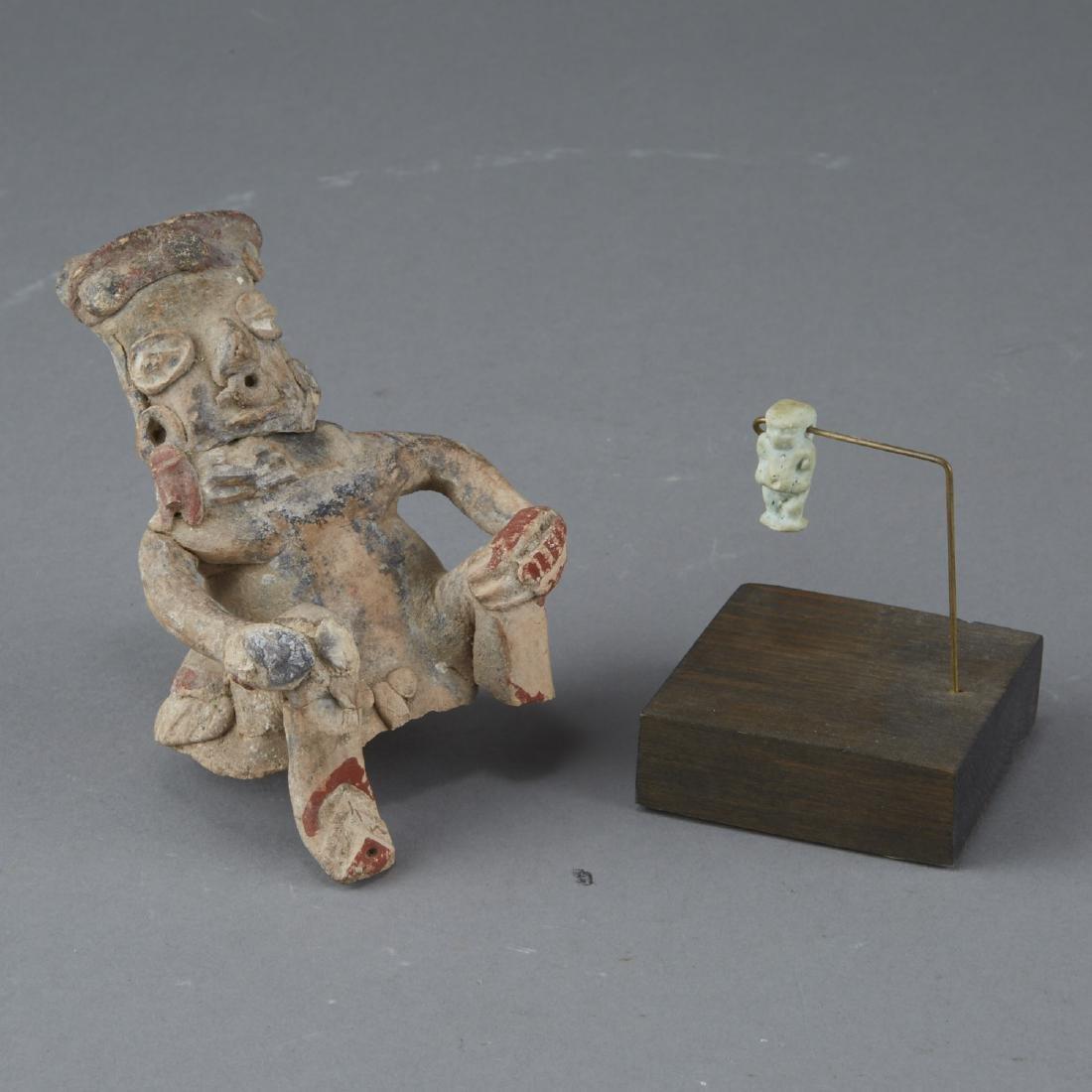 Lot of 2 Ancient Ceramic Figurines