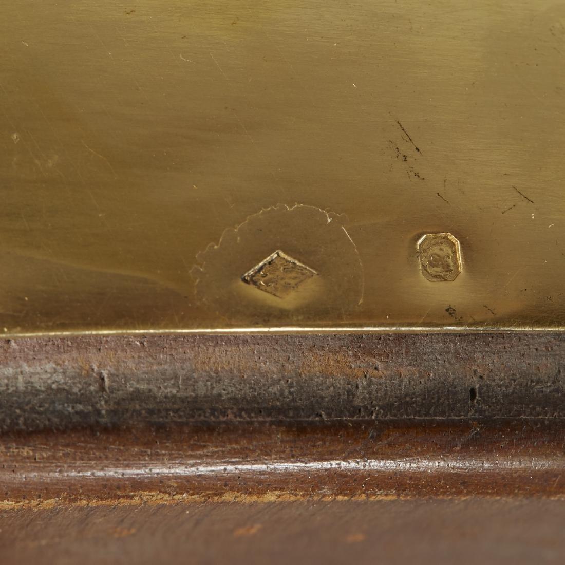 Aucoc of Paris Silver Gilt Table Mirror - 6