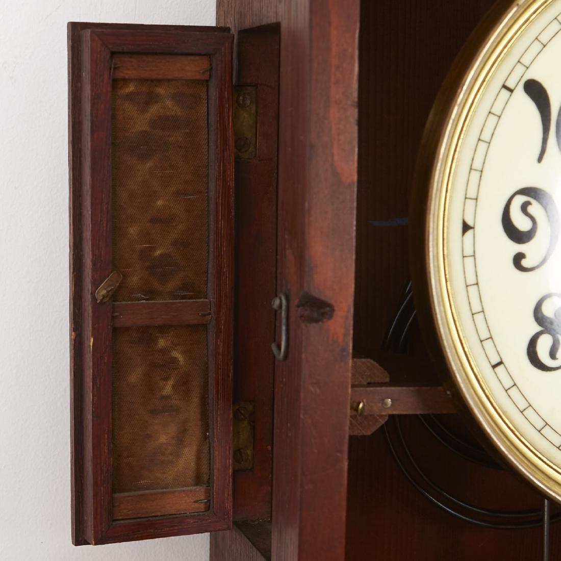 Lenzkirch German Art Nouveau Wall Clock - 5