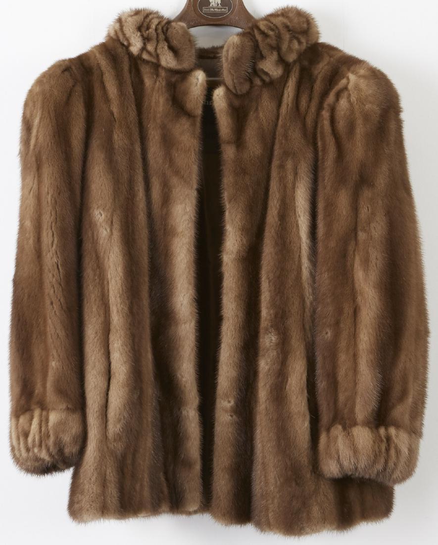 Christian Dior Lunaraine Mink Female Skins Jacket