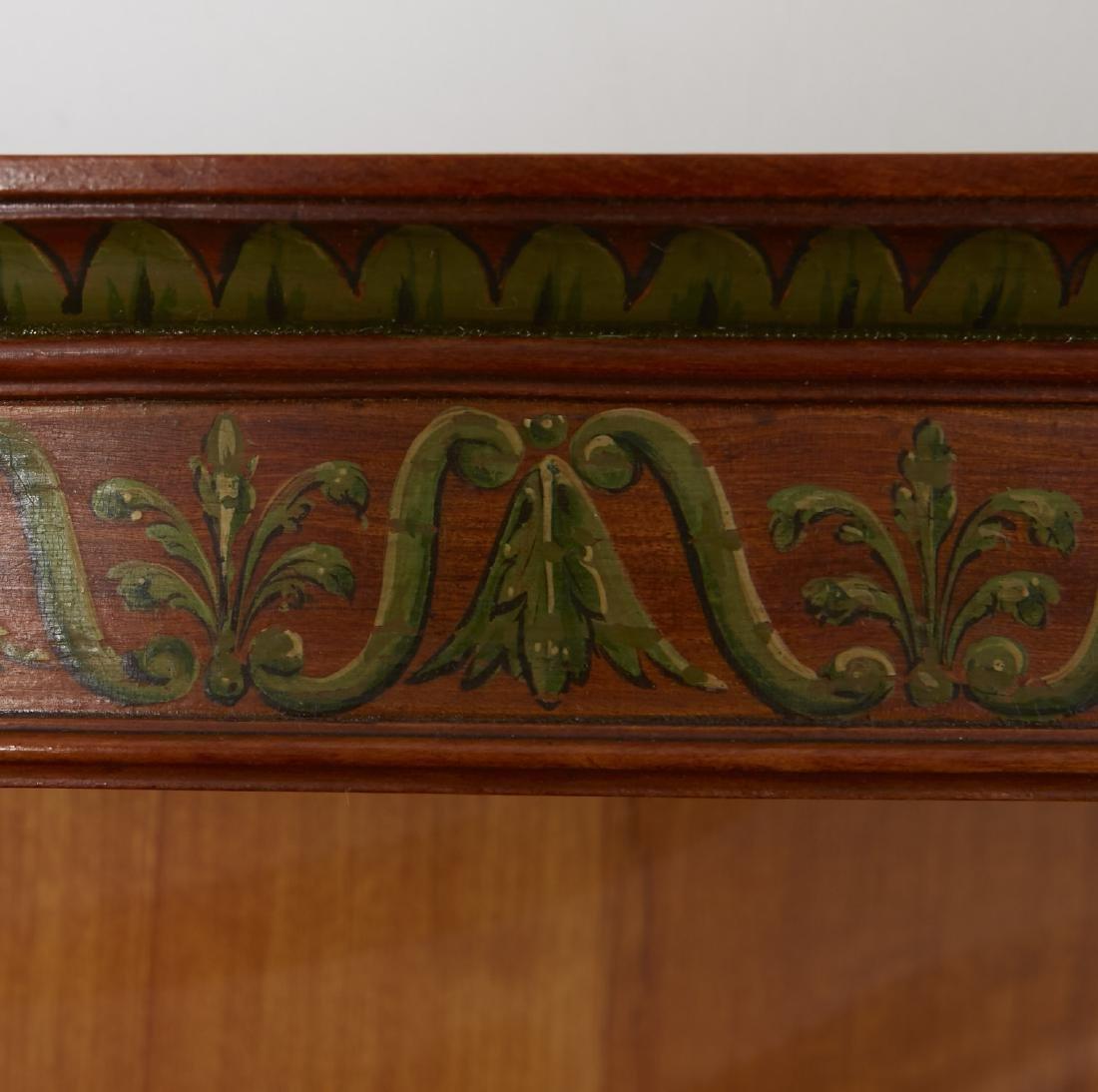 Adams Style Satinwood Wall Shelf - 2