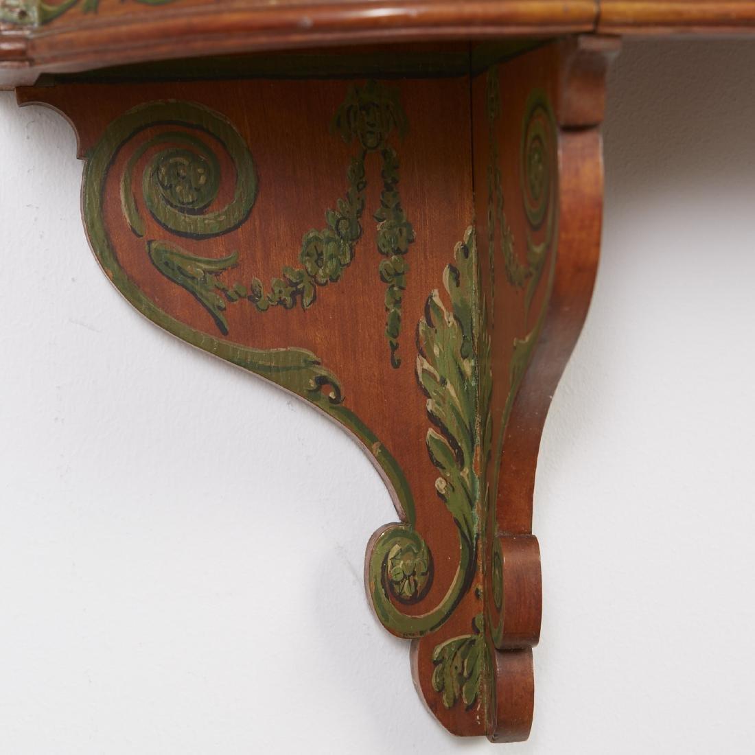 Adams Style Satinwood Wall Shelf - 3
