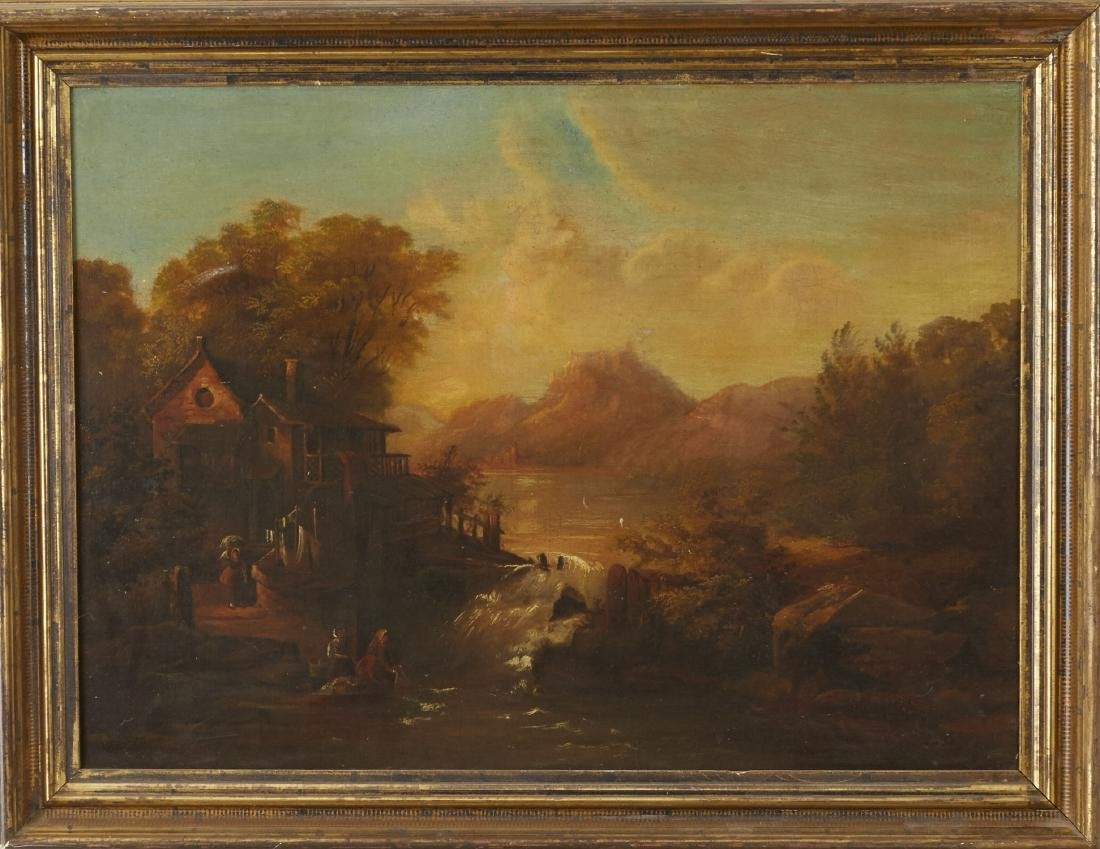 18th Century Landscape Oil Painting - 2