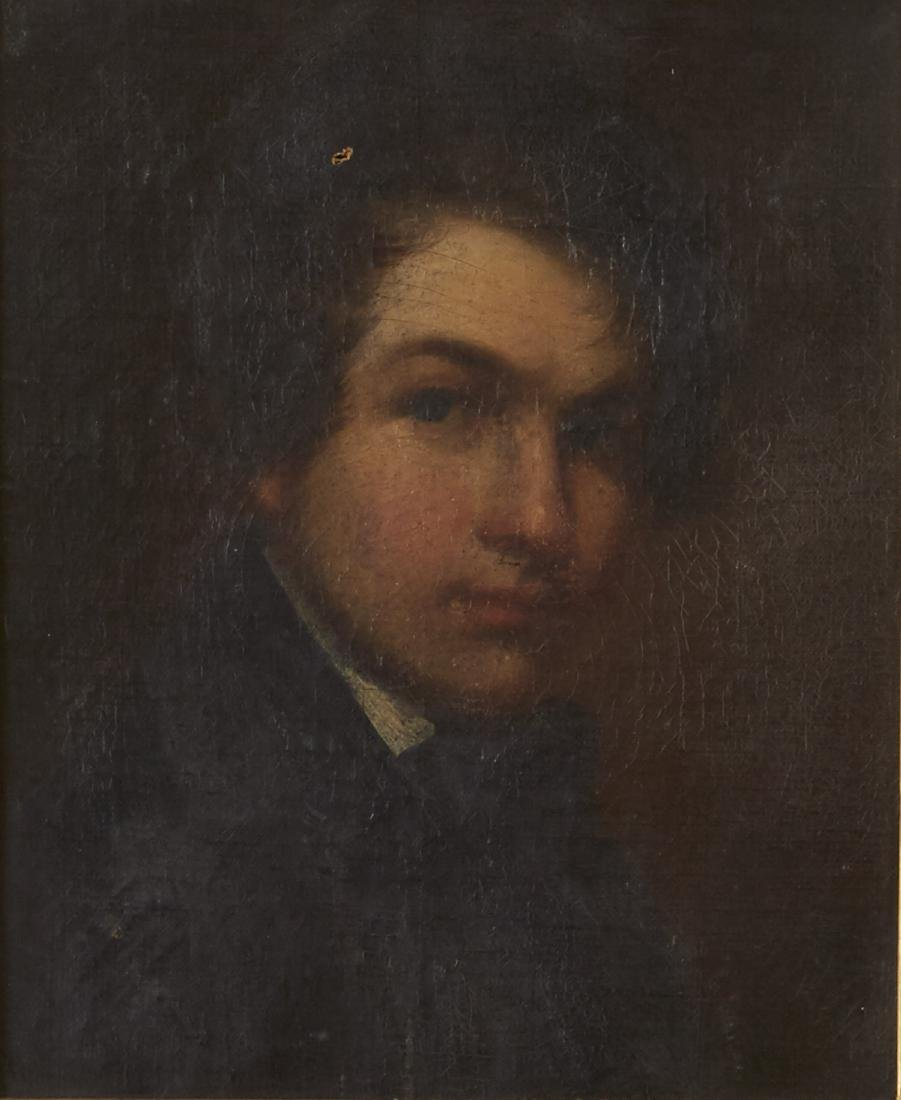 19th Century English School Portrait of a Boy