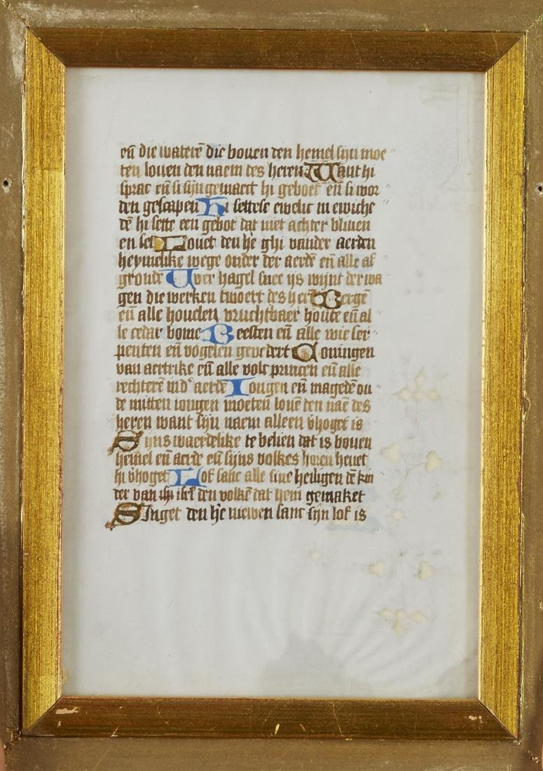 Missal Page Book of Hours - 4
