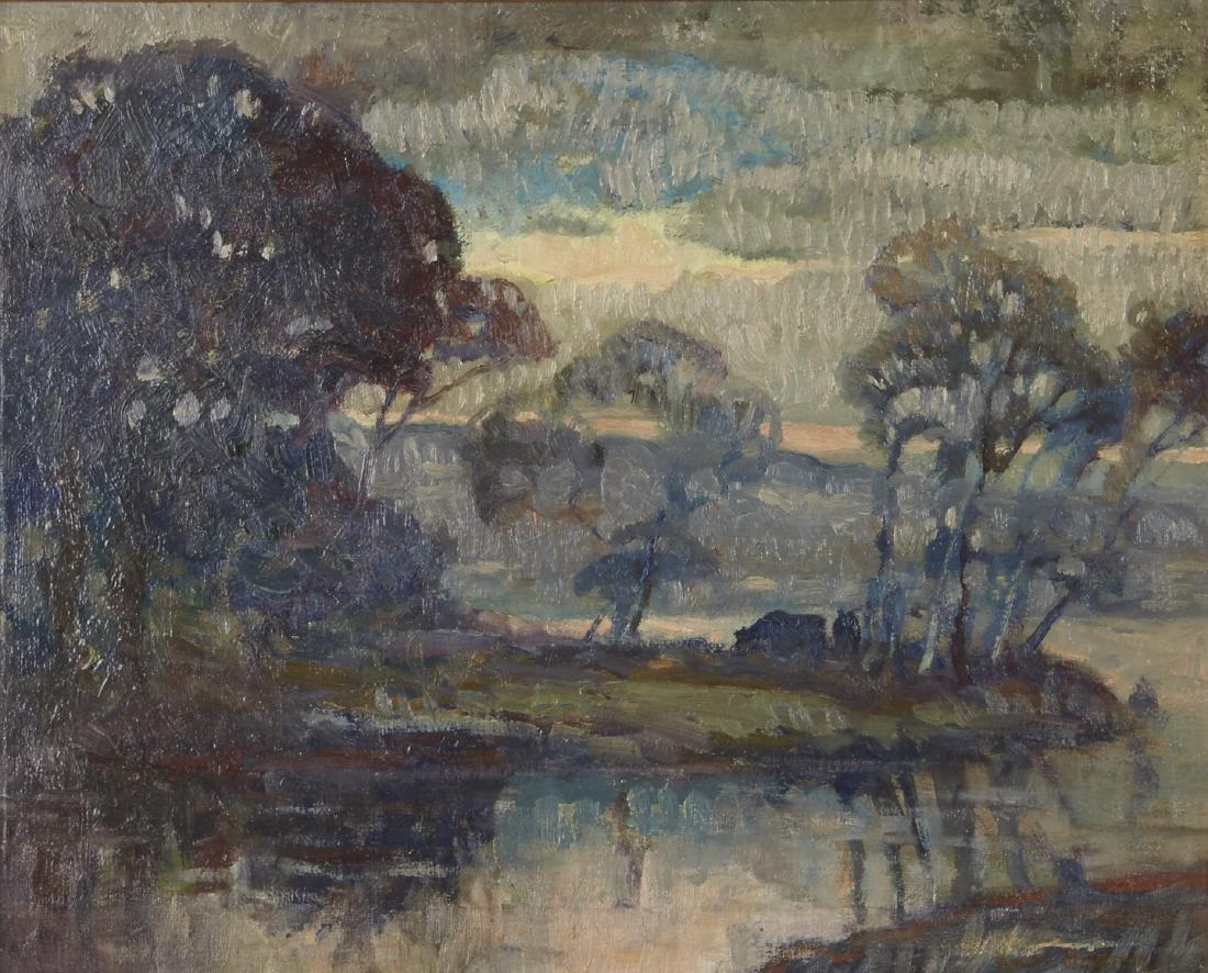 Knute Heldner Landscape Oil Painting