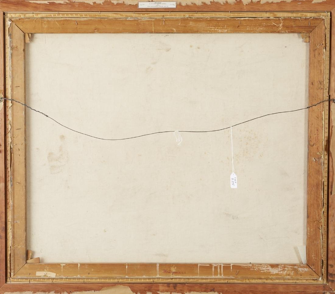 Elof Wedin Abstract Painting Ore Docks - 4