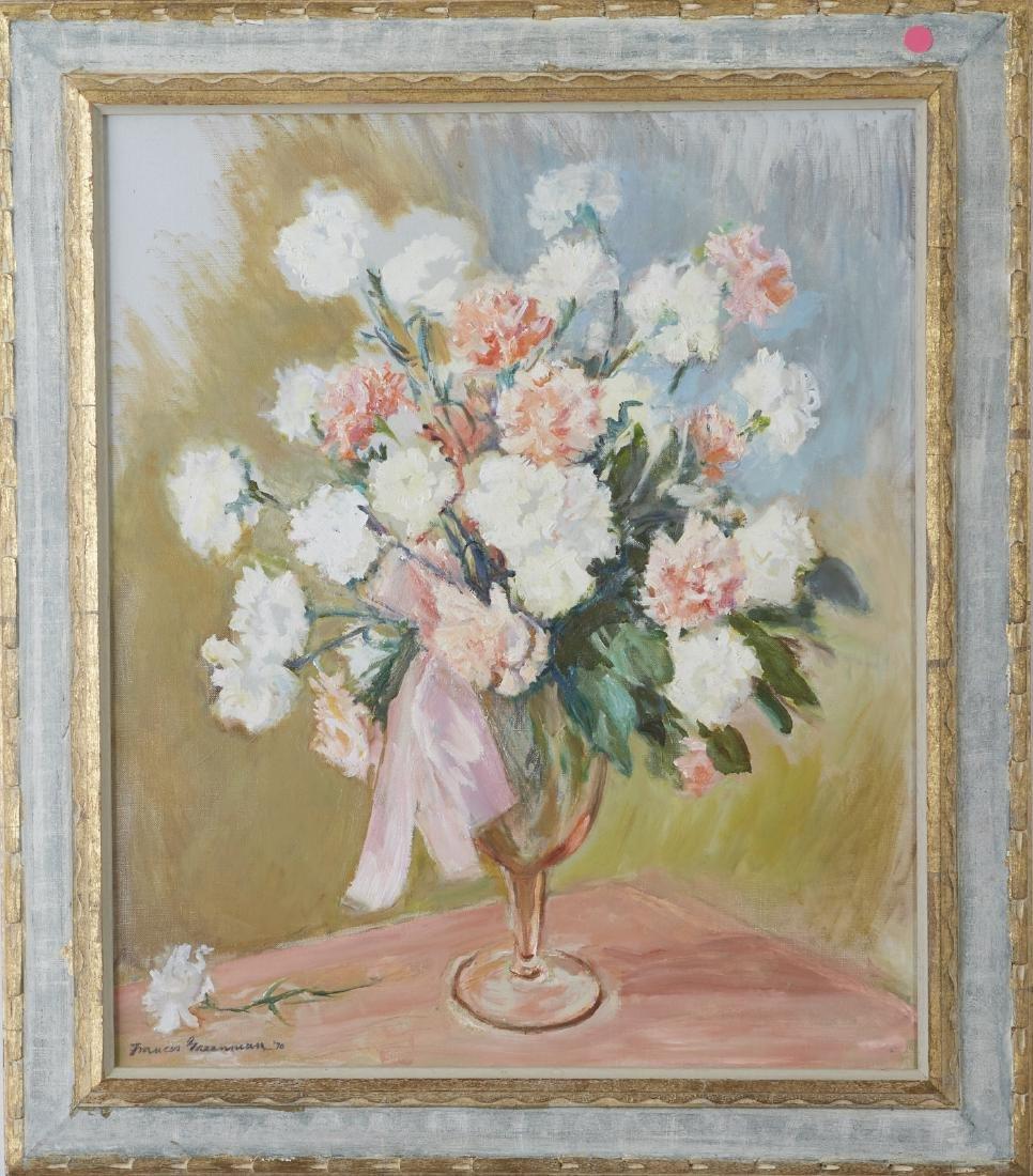 Frances Greenman Flowers Still Life Oil Painting - 2