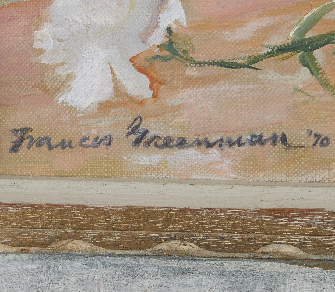 Frances Greenman Flowers Still Life Oil Painting - 3