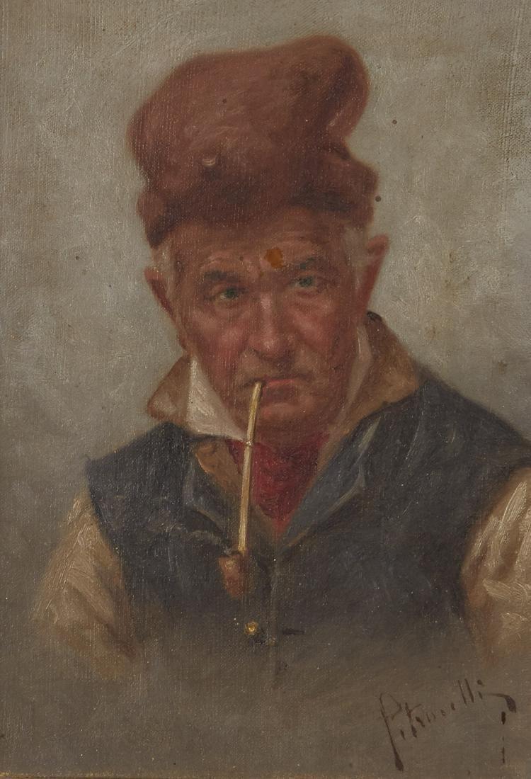 Petrocelli Pair of Oil Paintings - 2