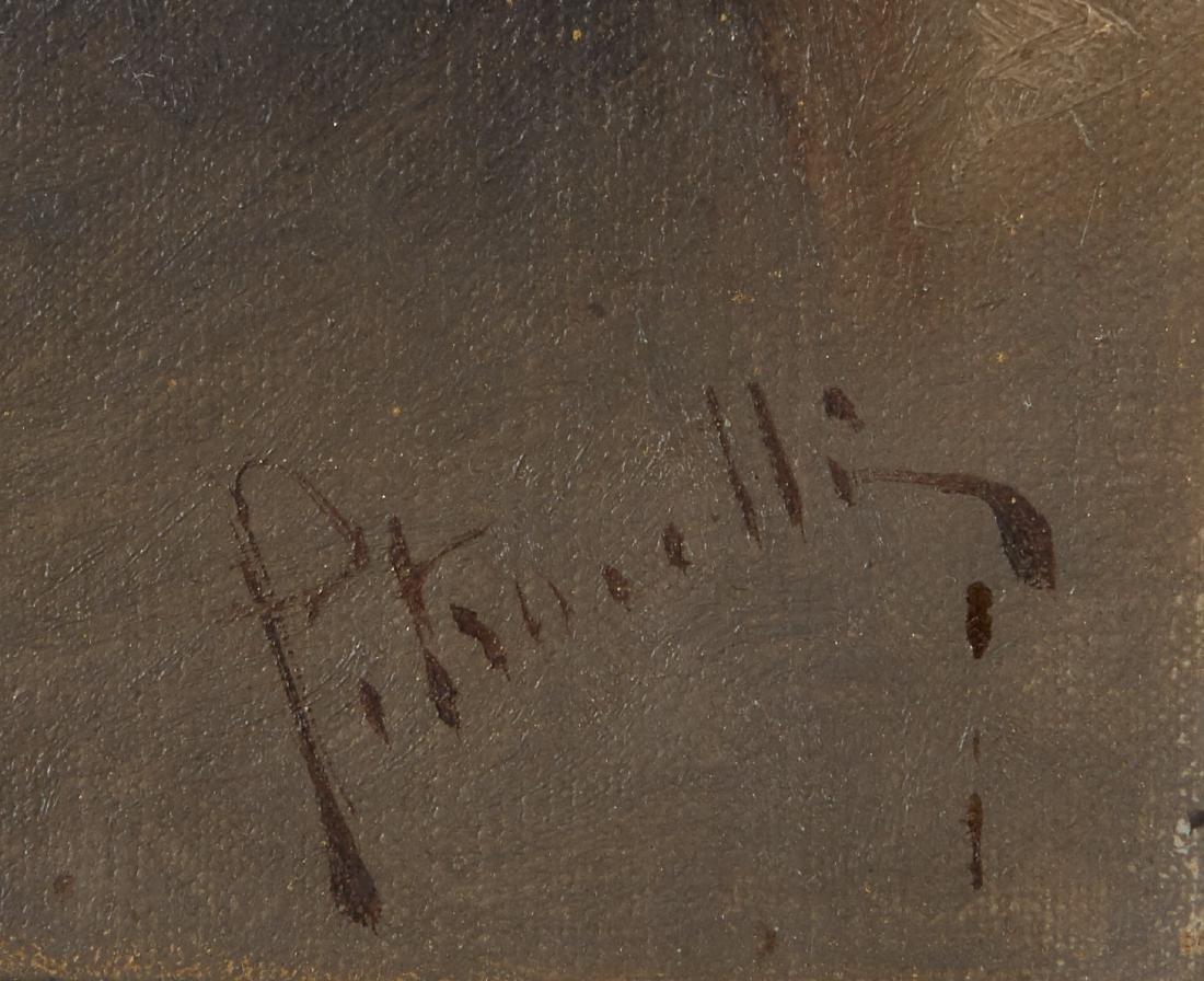 Petrocelli Pair of Oil Paintings - 4