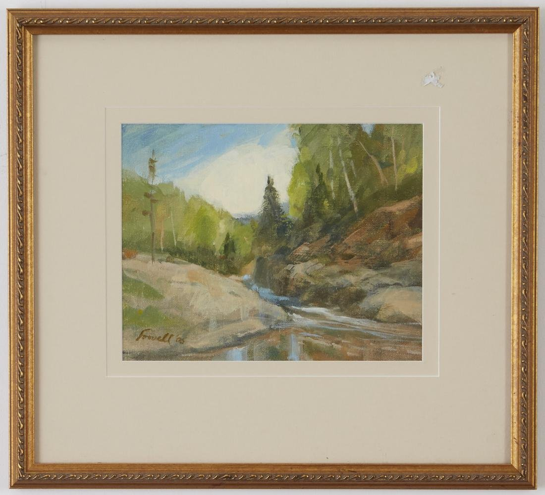 4 Landscsape Paintings Somers, Lowell, and Moen - 3