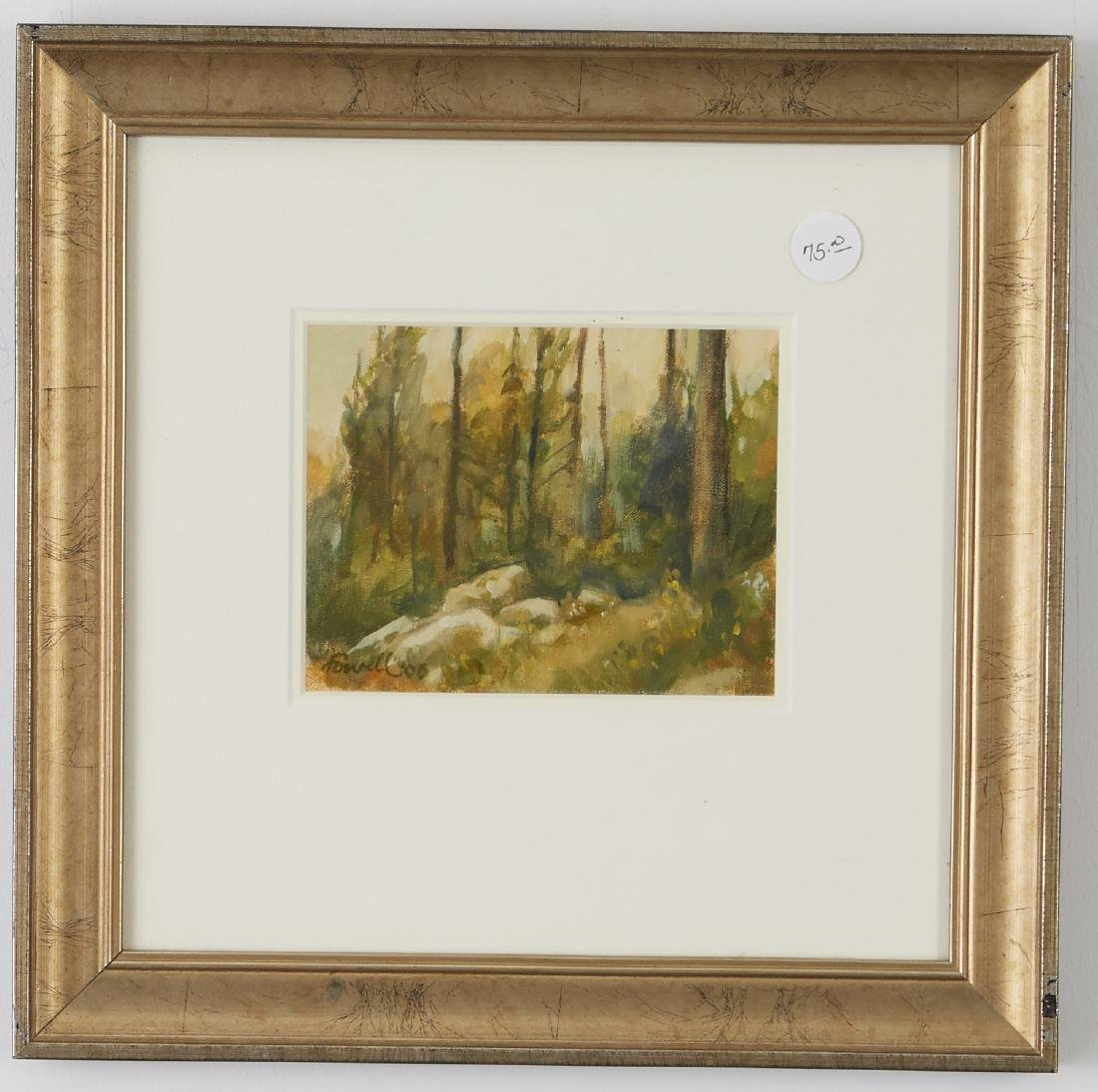 4 Landscsape Paintings Somers, Lowell, and Moen - 4