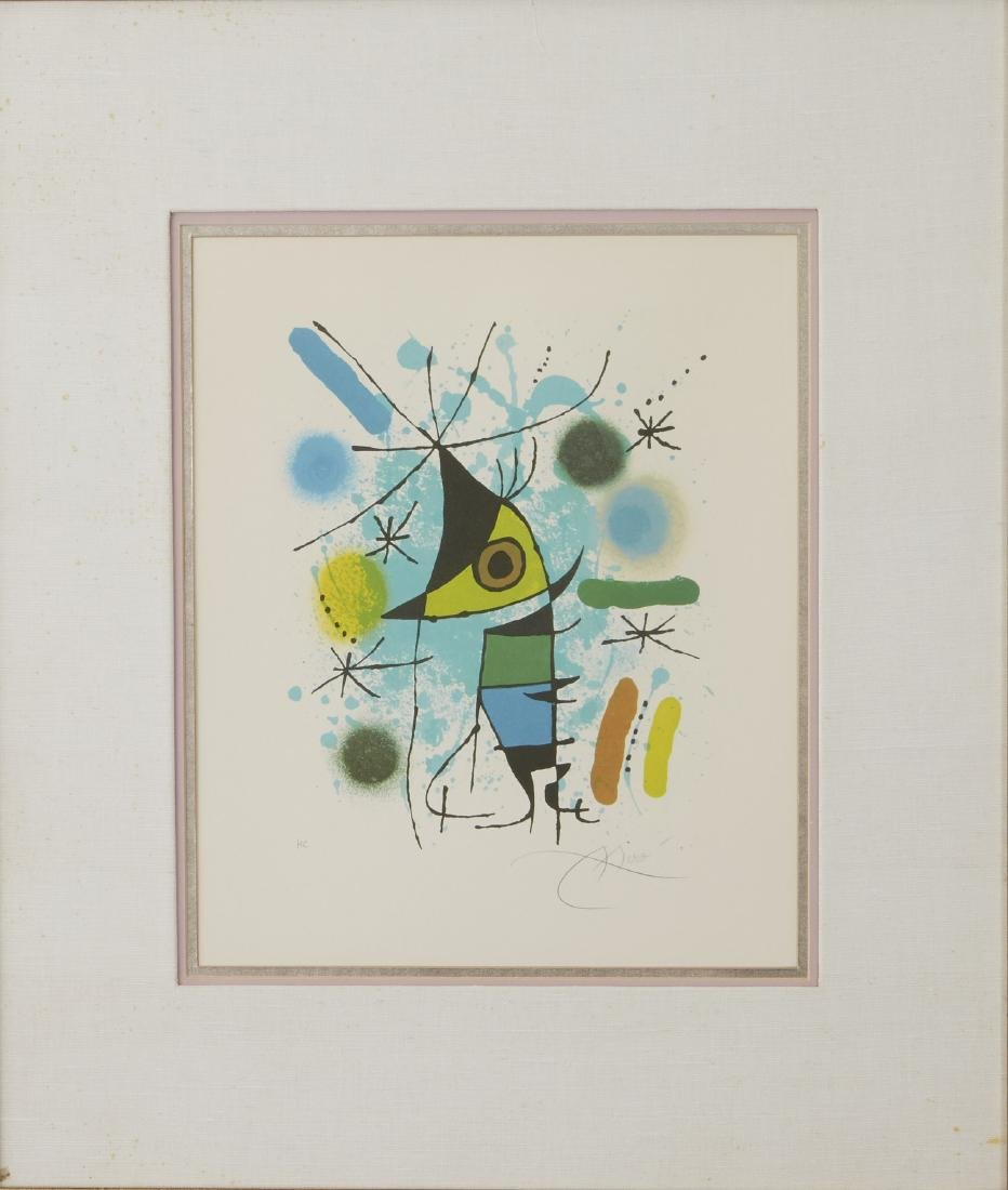 Joan Miro Volume 1 Fish Lithograph