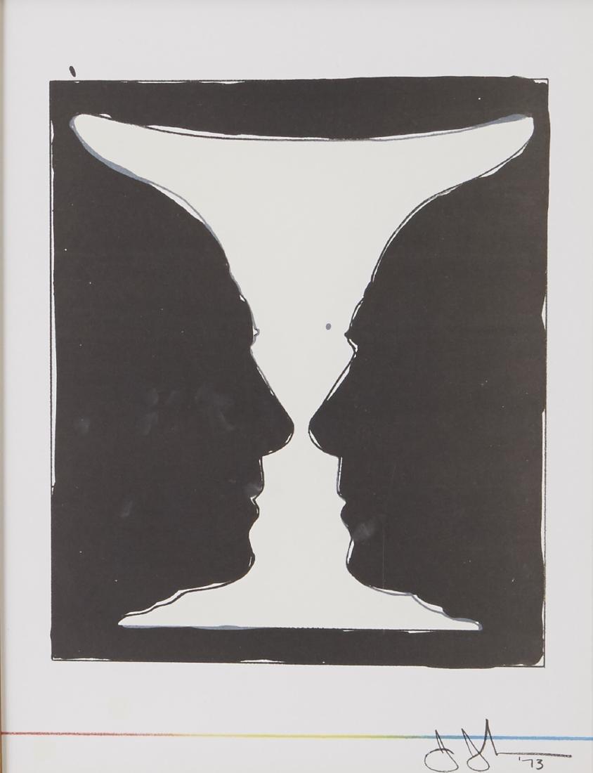Jasper Johns Cup 2 Picasso Lithograph