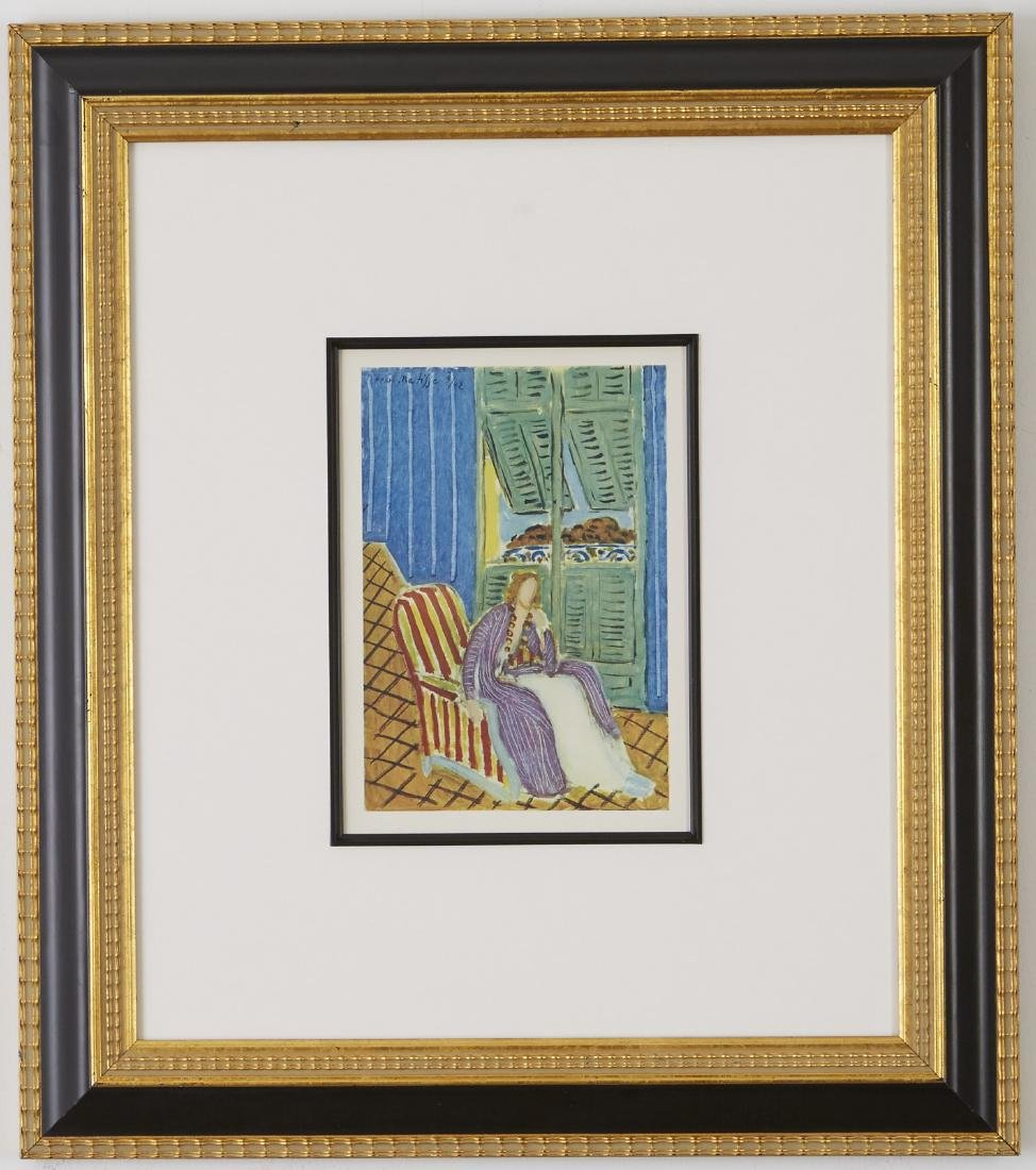 Group of Four Henri Matisse Lithographs