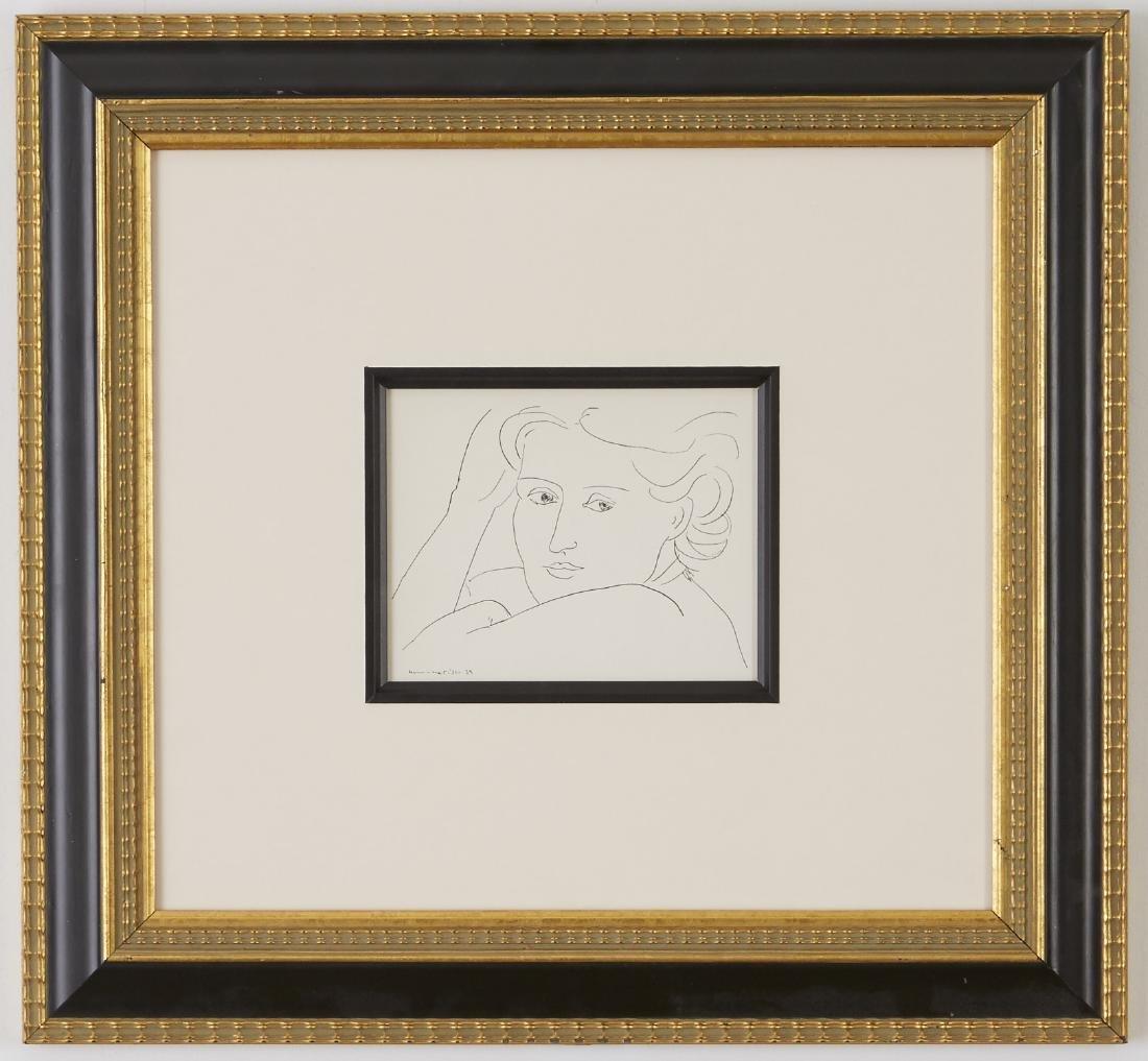 4 Henri Matisse Lithographs - 4