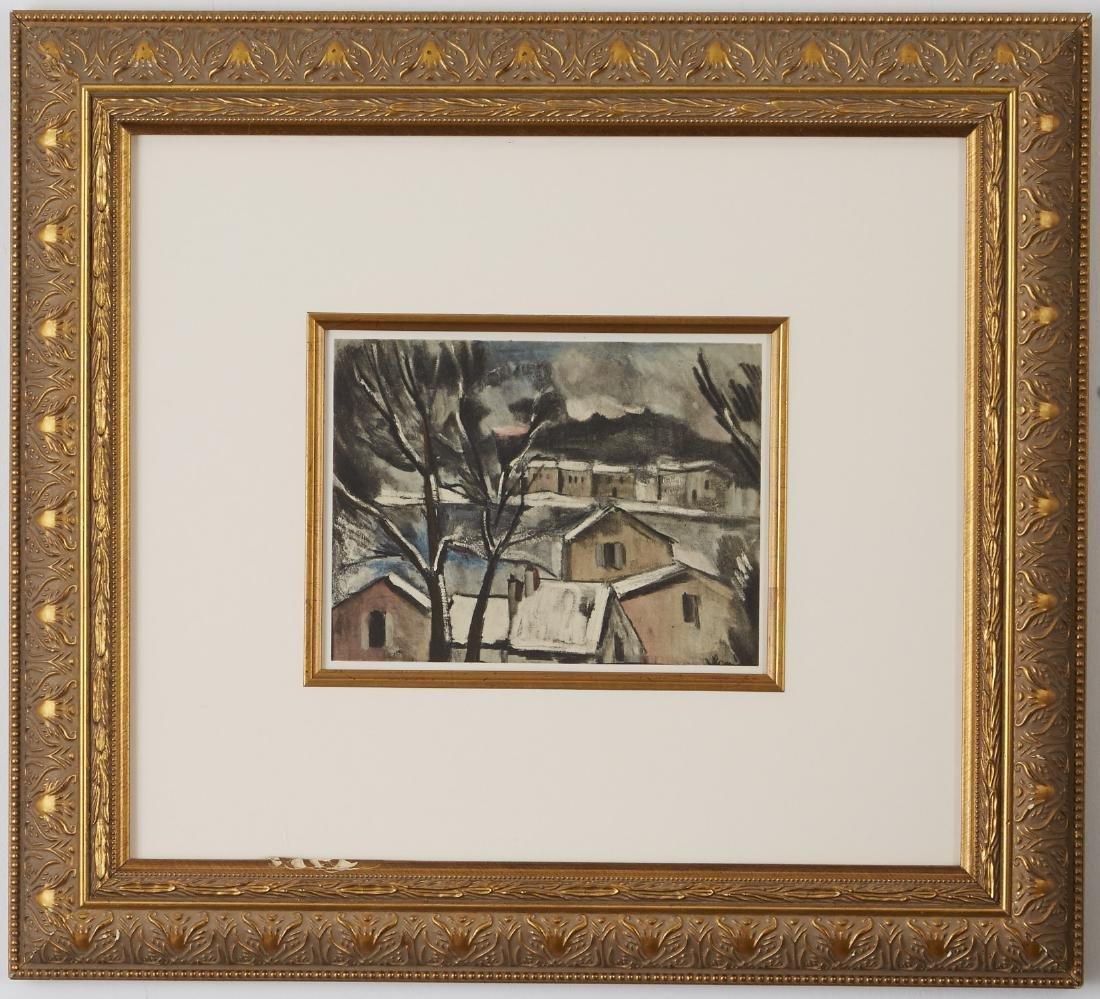 5 Maurice Vlaminck Lithographs