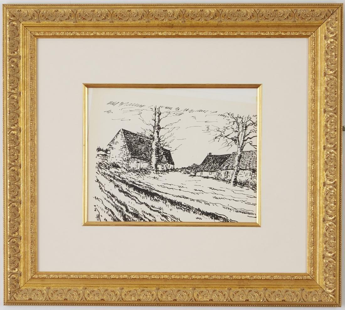 5 Maurice Vlaminck Lithographs - 2