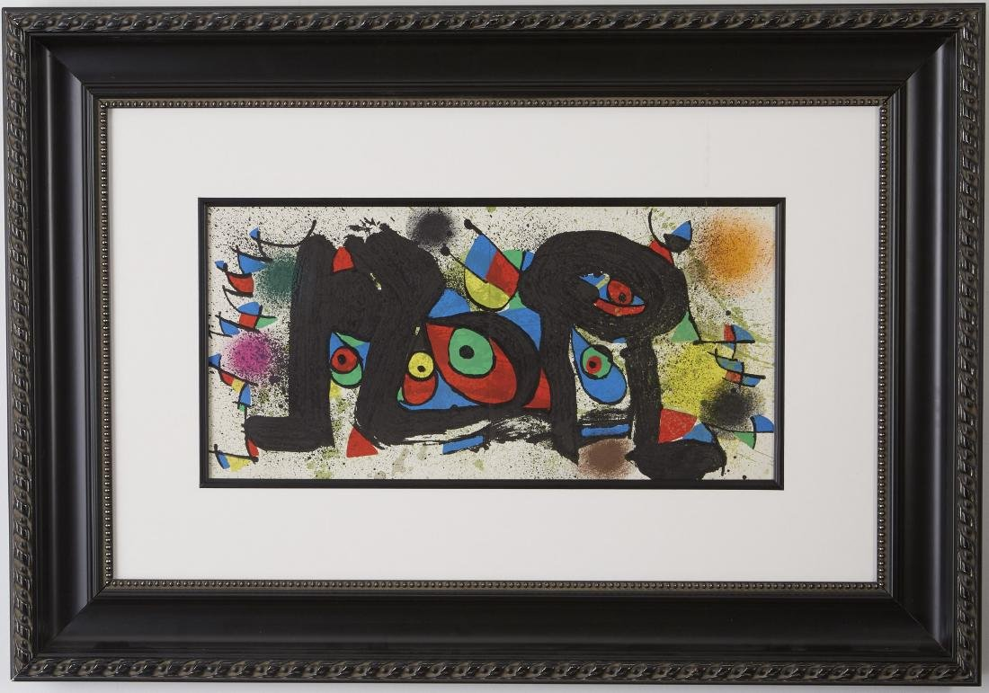 5 Lithographs, Miró, Chagall, and Delaunay