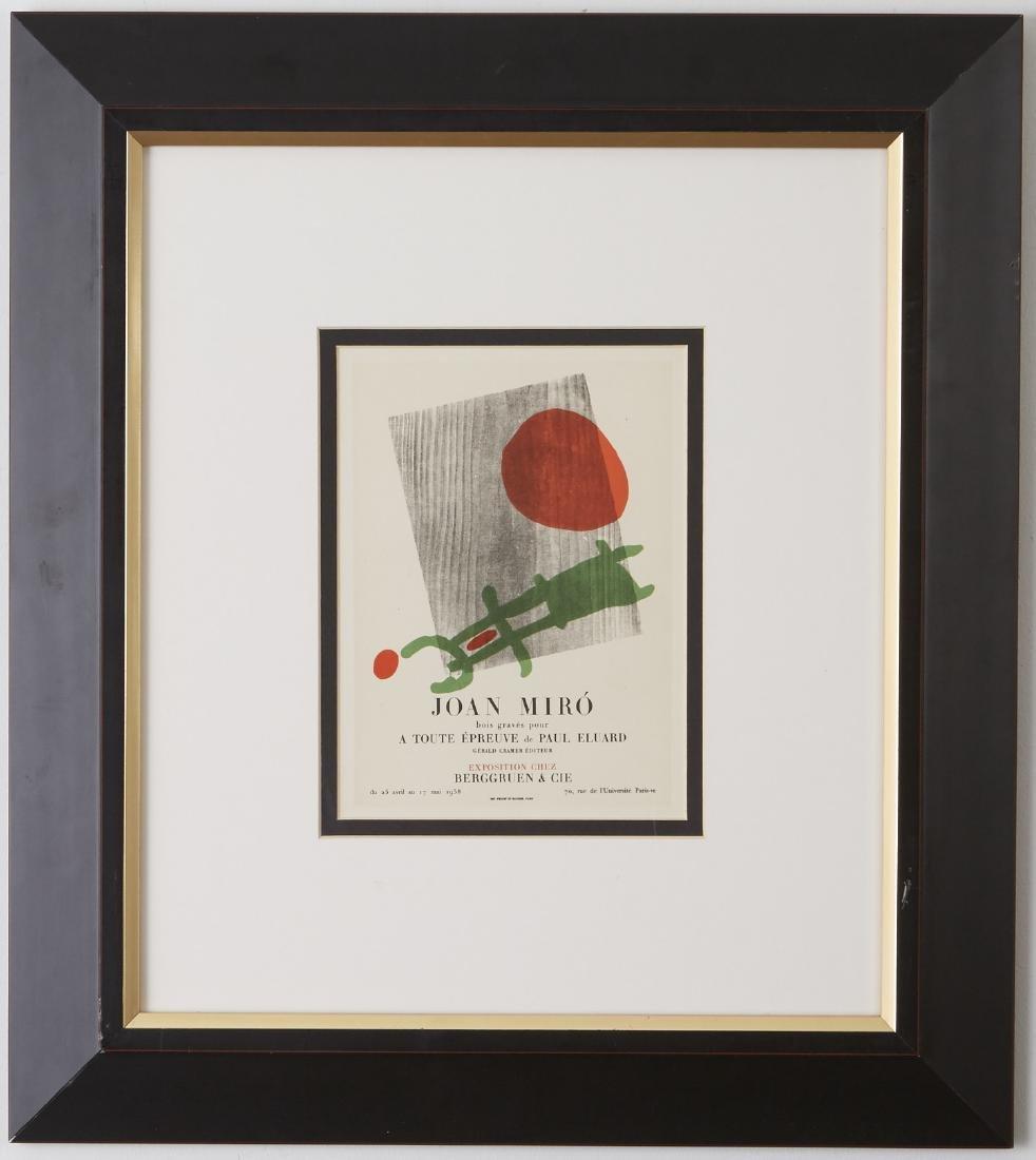 5 Lithographs, Miró, Chagall, and Delaunay - 2
