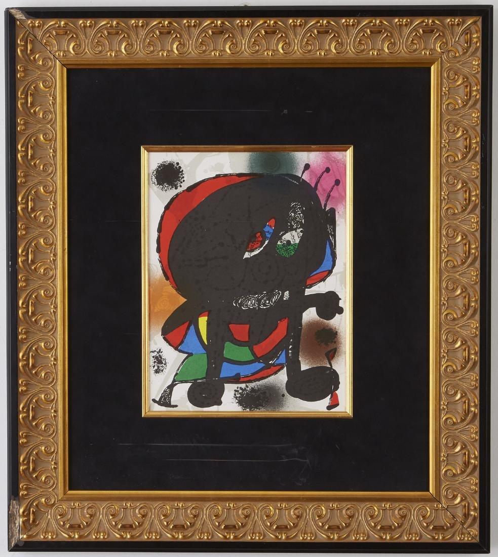 5 Lithographs, Miró, Chagall, and Delaunay - 3