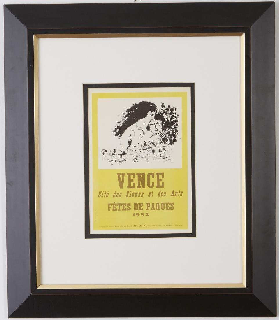 5 Lithographs, Miró, Chagall, and Delaunay - 4