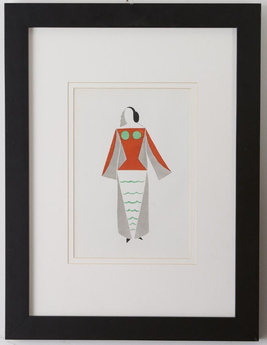 5 Lithographs, Miró, Chagall, and Delaunay - 5