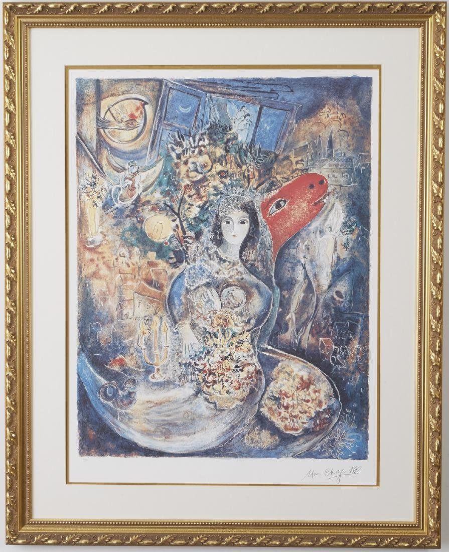 Marc Chagall Bella Offset Lithograph - 2