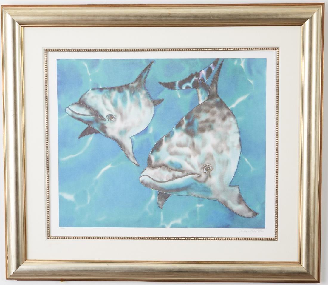 Jean Baptiste Dolphin Color Lithograph - 2