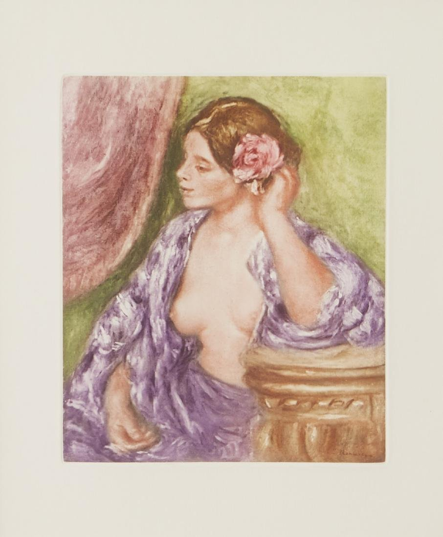2 Renoir Etchings