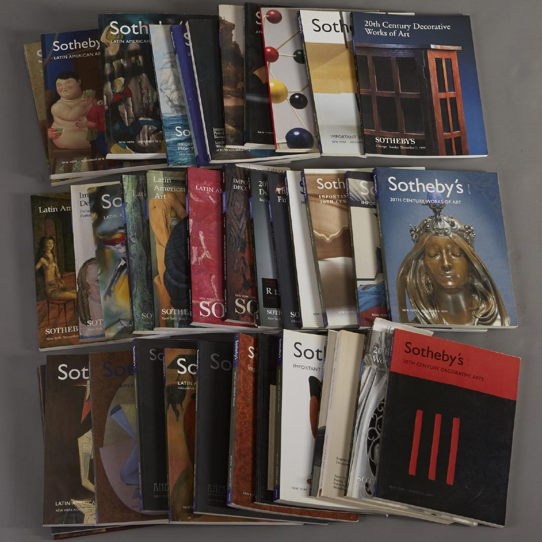 36 Sotheby's Catalogs